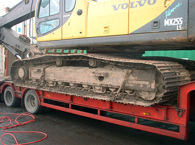 Heavy Plant Machinery - Cleaned afer imported