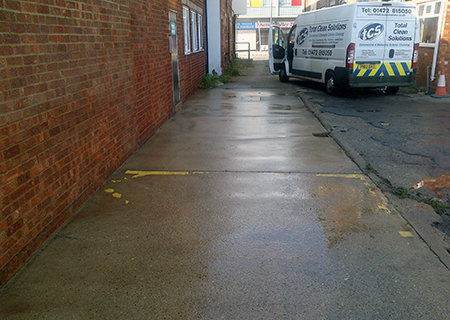 Graffiti Removal - Paint Removal, Graffiti Removal After Total Clean Solutions